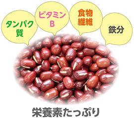 小豆に含まれる栄養