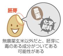 無農薬玄米以外の胚芽